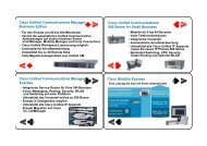 Cisco Unified Communications Manager Express Cisco Unified ...