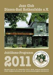 2011 - Jazz Club Dissen - Bad Rothenfelde eV