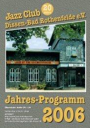 2006 - Jazz Club Dissen - Bad Rothenfelde eV