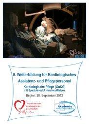 Kardiologie - Akademie für Gesundheit und Bildung