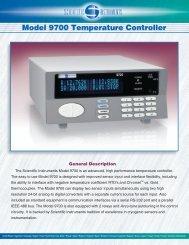 Model 9700 Temperature Controller Model 9700 Temperature ... - JCM