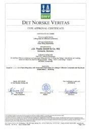 Download DNV 2.7-1 Type Approval Grade 8 - JDT