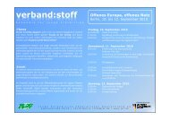 100818 Verbandstoff Netzpolitik Berlin Flyer - JEF