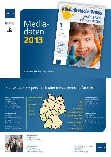 Media- daten 2013 - Kirchheim-Verlag