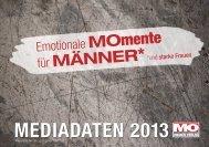 MEDIADATEN 2013 - MO-Web