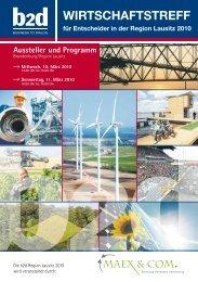 WIRTSCHAFTSTREFF - b2d business to dialog Hofes e.K.