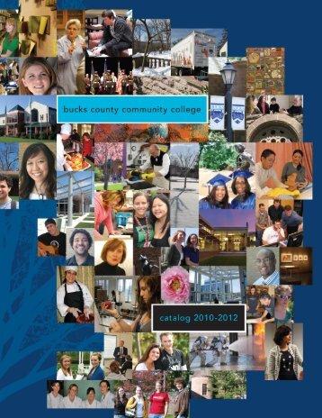 Catalog 2010-2012 - Bucks County Community College