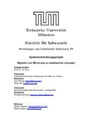 Systementwicklungsprojekt - Software and Systems Engineering ...