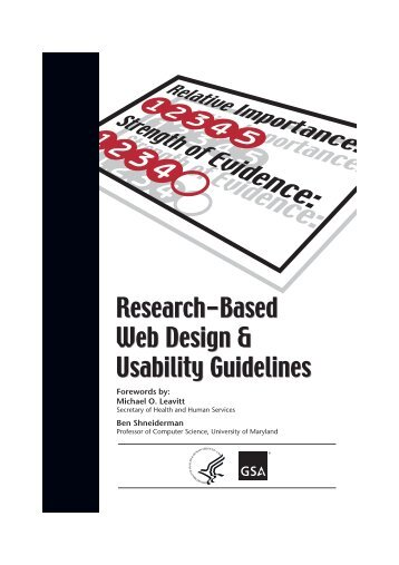 Research-Based Web Design & Usability Guidelines Research ...