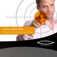 Onlinemarketing Broschüre finden Sie hier als PDF zum