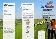 Veranstaltungsflyer JuFinale Oberbayern 2009 ... - JFF