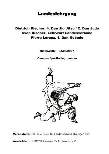 Landeslehrgang Landeslehrgang - Tai Jitsu / Jiu Jitsu ...