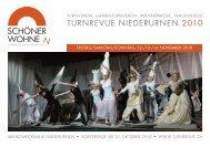 Programmheft - Turnrevue Niederurnen 2012