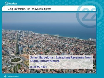 Smart Barcelona : Extracting Revenues from Digital Infrastructure