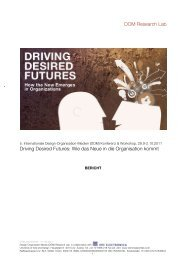 DOM Research Lab Driving Desired Futures: Wie das Neue in die ...