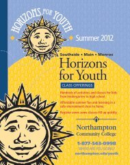Horizons For Youth Summer 2012 Catalog - Northampton ...