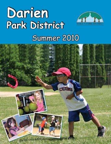 4 Darien Park District Registration Begins April 14