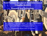 Fluid Fertilizer Injection in Australian Cereal Cropping Systems ...