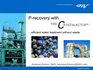 P-recovery with the CrystalactorÒprocess Andreas Giesen, DHV