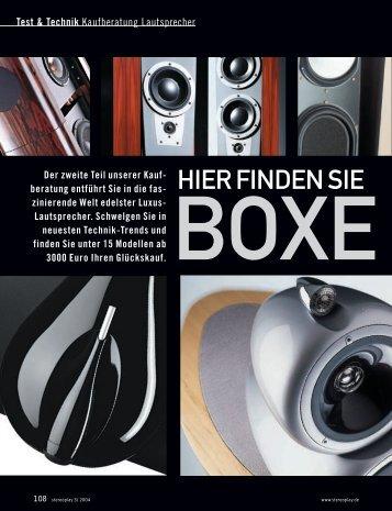 Test & Technik - Heinzler Hifi ideal