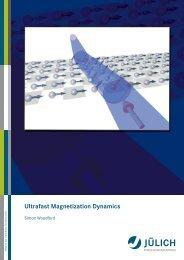 Ultrafast Magnetization Dynamics - JUWEL - Forschungszentrum ...