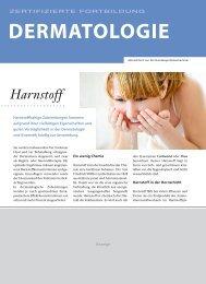 Harnstoff in der Dermatologie - Springer GuP