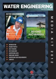 MEDIA KIT 2012 - Water Engineering Australia