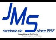 Download Anleitung PDF - JMS Fahrzeugteile