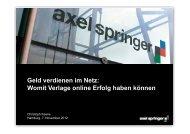 Geld verdienen im Netz: Womit Verlage online Erfolg haben ... - Adobe