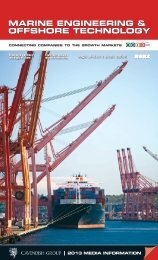 Download the 2012 Media pack - Marine Offshore Technology