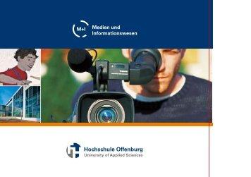 Medien und Informationswesen - an der Hochschule Offenburg