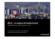 BILD – A unique all-media brand - Axel Springer AG