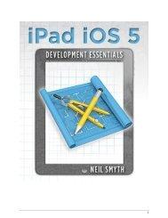 iPad iOS 5 Development Essentials - eBookFrenzy.com
