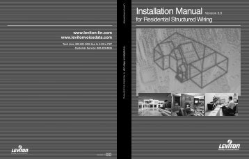 Installation Manual - Leviton