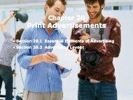 Developing Print Advertisements - iMAG