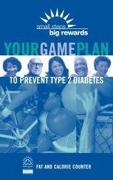 Fat and Calorie Counter - National Diabetes Education Program ...