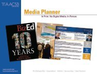 View the Media Planner - AACSB.edu