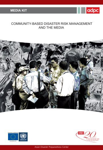 community-based disaster risk management and the media media kit