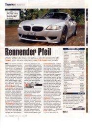 Rennender Pteil - Cartech