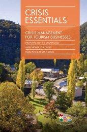 'Crisis Essentials' guide - Tourism Victoria