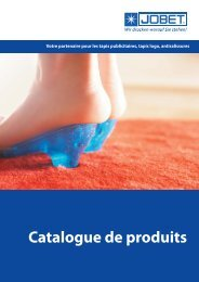 Catalogue de produits:Layout 1.qxd - Jobet