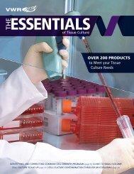 VWR The Essentials of Tissue Culture, Lit. No ... - VWR International