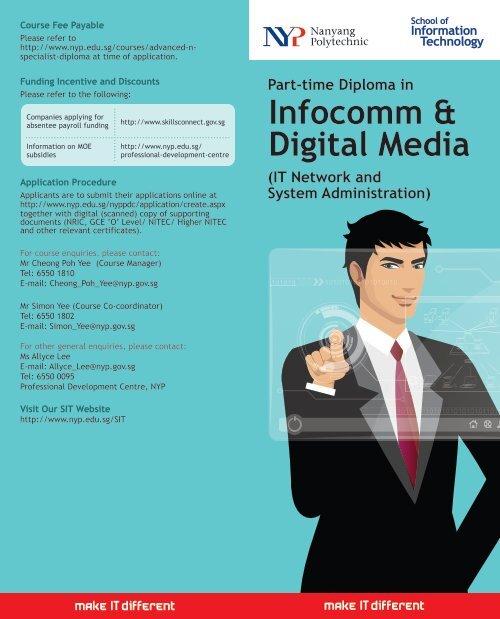 Part-time Diploma in Infocomm & Digital Media - Nanyang Polytechnic