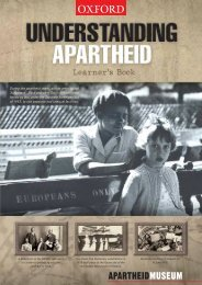 Learner's Book - Apartheid Museum