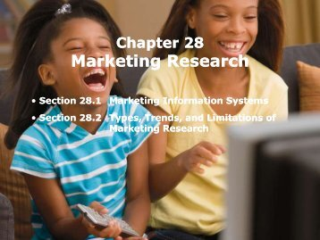 Marketing Research Marketing Research - iMAG