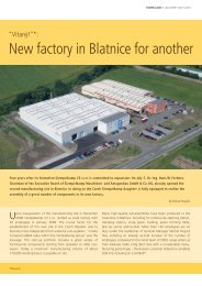 New factory in Blatnice for another - Siempelkamp