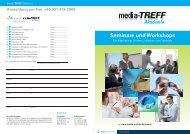 Seminare und Workshops - media-TREFF