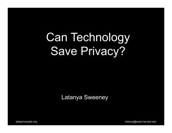 Social Media Facebook Privacy Can Technology Save Privacy?