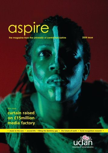 Aspire Issue 2 - University of Central Lancashire