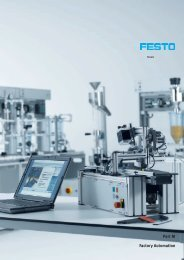 Part M Factory Automation - Festo Didactic